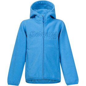 Bergans Bryggen Jacket Kinder light winter sky/athens blue